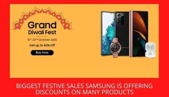 Biggest Festive Sales Samsung Is Offering Discounts On Many Products